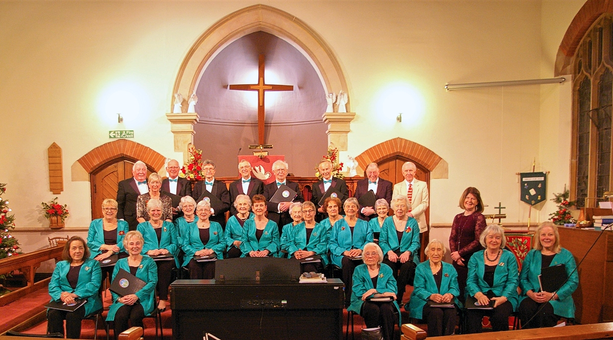 The  Malvern Singers at the URC, Malvern Link, December 2018